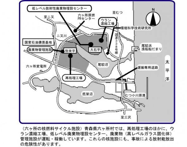 六ヶ所の核燃料再処理施設