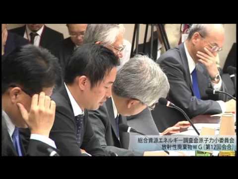 総合資源エネルギー調査会 電気事業分科会 原子力部会 放射性廃棄物ワーキンググループ(旧小委員会)(2013年度第14回)