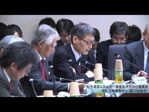 総合資源エネルギー調査会 電気事業分科会 原子力部会 放射性廃棄物ワーキンググループ(旧小委員会)(2013年度第15回)