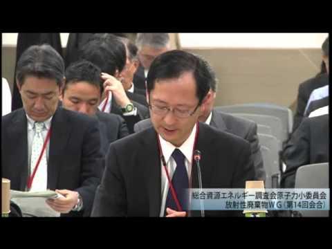 総合資源エネルギー調査会 電気事業分科会 原子力部会 放射性廃棄物ワーキンググループ(旧小委員会)(2013年度第16回)