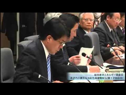 総合資源エネルギー調査会 電気事業分科会 原子力部会 放射性廃棄物ワーキンググループ(旧小委員会)(第19回)